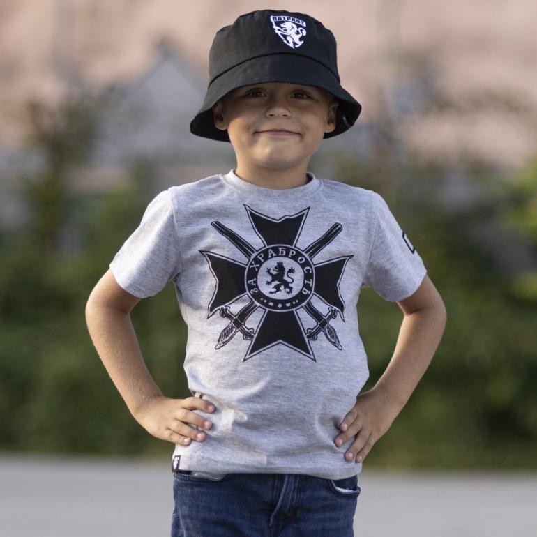 Детска Тениска - За Храбрость
